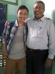 Me with Bapak Budi